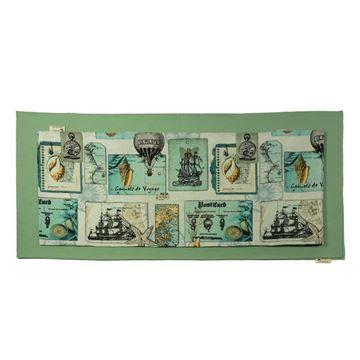 Снимка на Комплект Декоративни ленти за маса - Кораби - 38/175 и 30/175