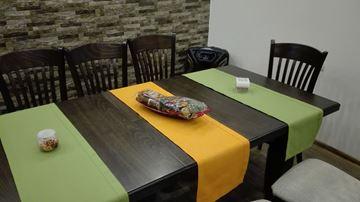 Picture of Декоративна лента за маса  - 40/130 - зелено или  жълто
