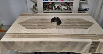 Снимка на Комплект Покривка за маса с лента райе - различни размери